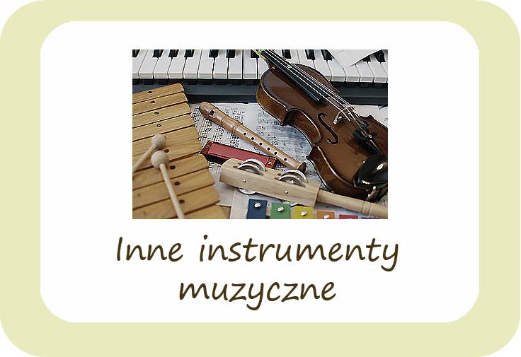 Inne instrumenty