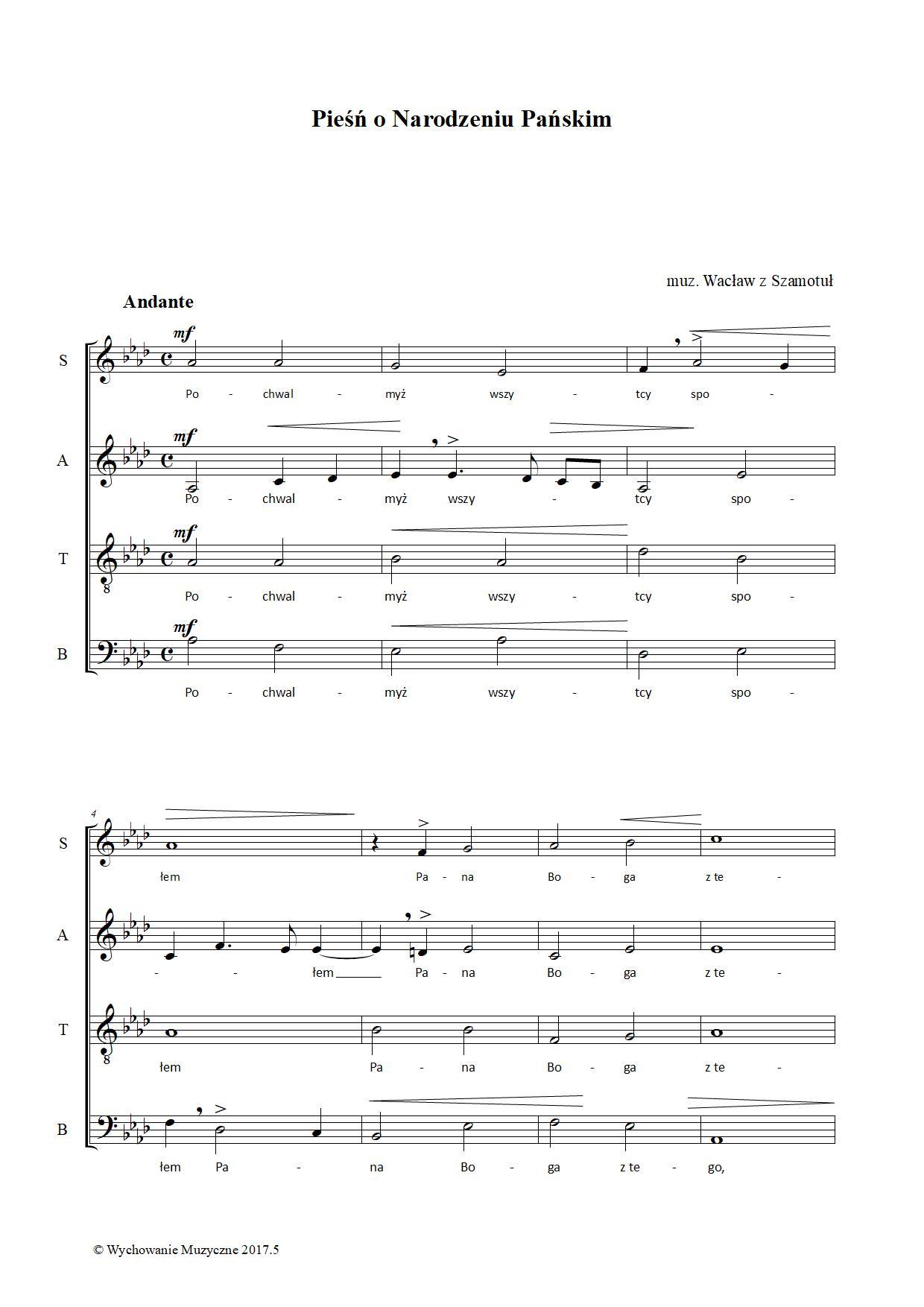 Pieśń o Narodzeniu Pańskim
