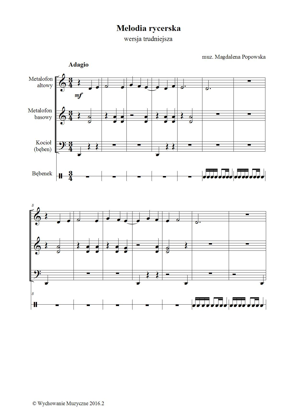Melodia rycerska II